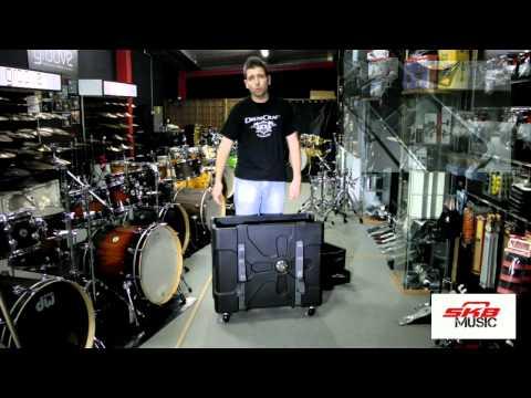 Case de Hardware+Pratos SKB Trap X2 ( 2 em 1 ) - Groove It Up Drum Shop