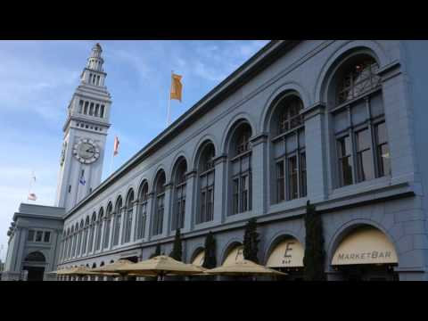 San Francisco Travel Winter 2016: Golden Gate, Pier 39, Fisherman's Wharf, Ferry Building, USA
