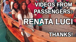 Xclusive Boat Party - Video from passengers: Renata Luci