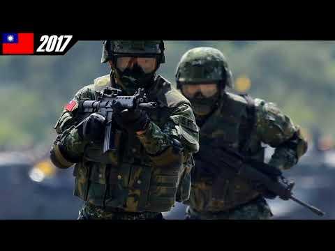 世界軍隊和警察系列1中華民國國軍(2-1)