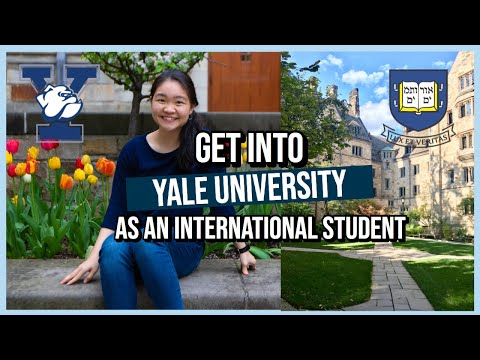 Get Into Yale As An International Student! | 9 Tips + My Experience As A Singaporean
