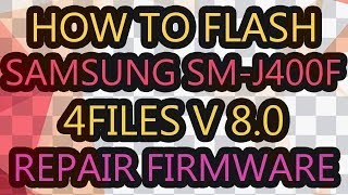 How To Flash Samsung Mobiloe With Repair Firmware