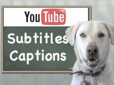 YouTube Subtitles - YouTube Captions How To Video SEO Tips
