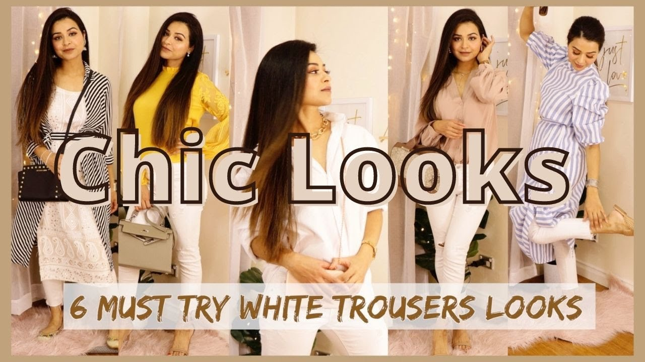 6 MUST Try White Jeans Styles| Part-1| GulzBeauty