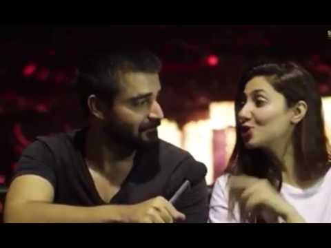 MAHIRA and Hamza Abbasi | Secret affair | Finally caught | 2016 |