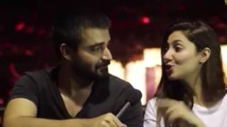 MAHIRA and Hamza Abbasi | Secret affair | Finally caught | 2016 |
