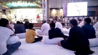 Mushaira 2018 c . guest Anwar shaur. Anchor. Mr.Aneeq.