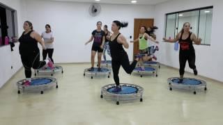 Video DANCE JUMP  - Prof. Elaine de Oliveira- Lexa (Se eu mandar) download MP3, 3GP, MP4, WEBM, AVI, FLV Maret 2018