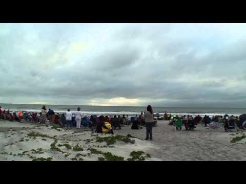 Cocoa Beach Easter Sunrise Service at 2,500 X