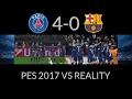 PSG 4 0 FC Barcelona PES 2017 Remake Goals mp3