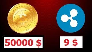 ✅Биткоин 50.000$ Рипл 9$ В 2021 году. Почему Сейчас Нужно Инвестировать в BitCoin и Ripple