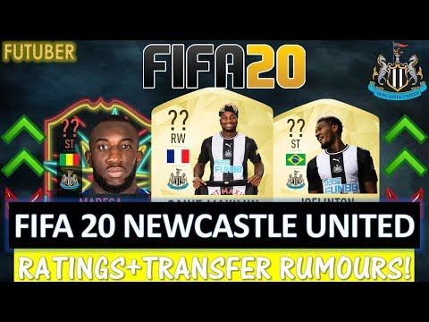 FIFA 20 | NEWCASTLE UNITED PLAYER RATINGS! FT. SAINT-MAXIMIN, JOELINTON,MAREGA ETC(TRANSFER RUMOURS)