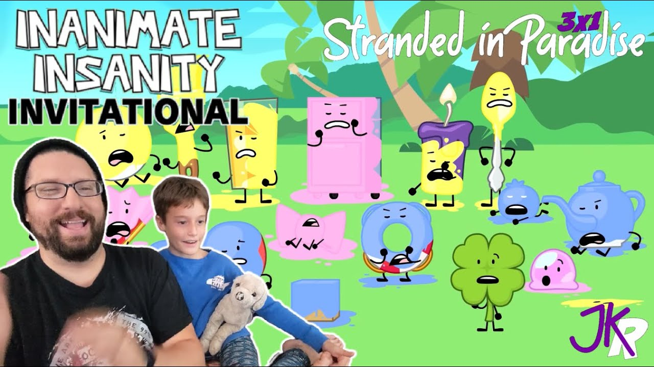 Download Inanimate Insanity REACTION Season 3 PREMIERE: Stranded in Paradise