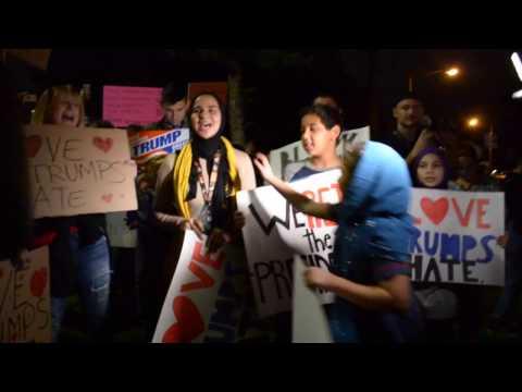 Long Beach Anti-Trump Protest - November 12, 2016
