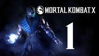 Прохождение Mortal Kombat X  —  Часть 1: Легенда Вернулась.Джонни Кейдж