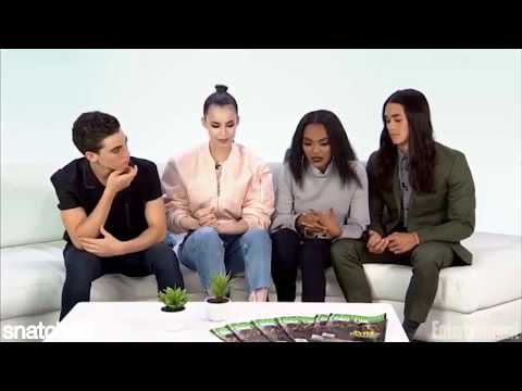 cameron boyce staring at china anne mcclain for 1 minute