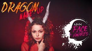 ~ NYX Face Awards Ukraine 2017 / Ethereal Dragon ~