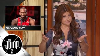 Rachel Nichols' NBA media day madness recap: Kawhi laugh steals the show | The Jump | ESPN