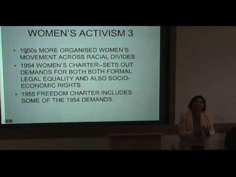 International Studies Symposium Series - Rashida Manjoo Part 3