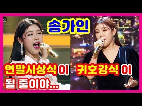 [송가인] 트로트가 연말시상식을 휘저어놓을 줄이야? 2019 MBC 연말시상식 송가인 무대 모음