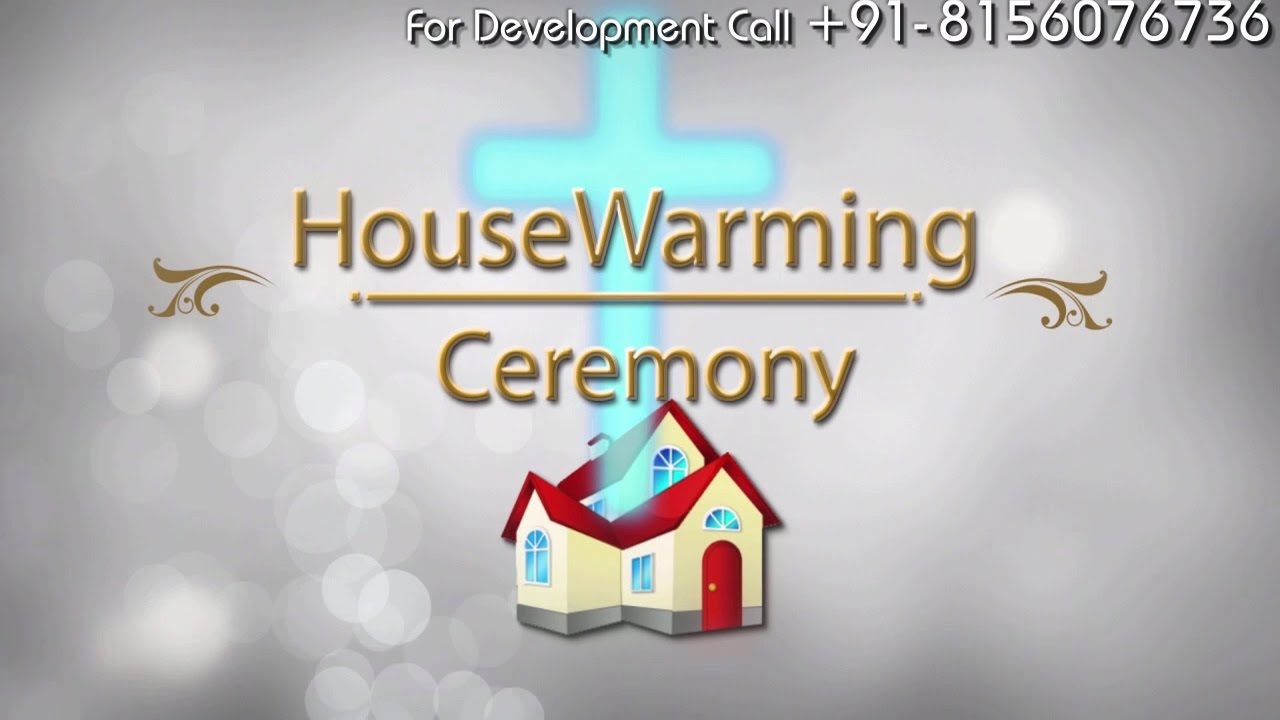 Christian HouseWarming Invitation Video in Rs.1400 ...