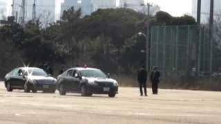 警視庁 SP 警護訓練 VIP protection training Tokyo M.P.D. (1 of 2)