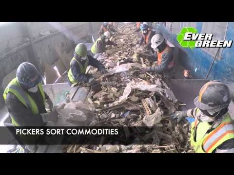 Evergreen Recycling Solutions - Recycling Plant Process ver 3.0