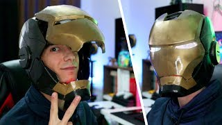 3D Yazıcı ile IRON MAN Kaskı Basmak! (Motor ve Ledli)