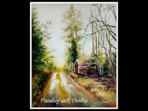 Painting a Landscape | Scenery Painting | For Beginners