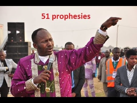 Apostle Suleman's 2018 prophesies compared to his 2017 prophesies