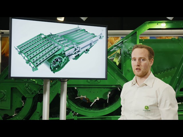 John Deere | T Series Combines - Walkaround