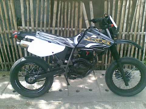 honda xr400 motard sport bike youtube. Black Bedroom Furniture Sets. Home Design Ideas