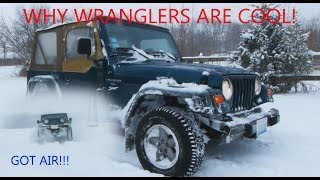 Why The Jeep Wrangler TJ is Cool - Review on and off road!