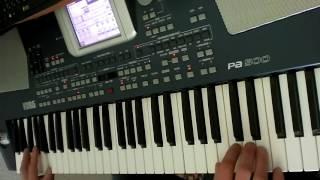 игра на синтезаторе Ласковый Май Вечер Холодной Зимы