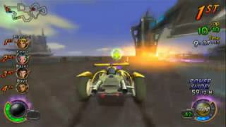 Jak X: Combat Racing (PS2 Gameplay)