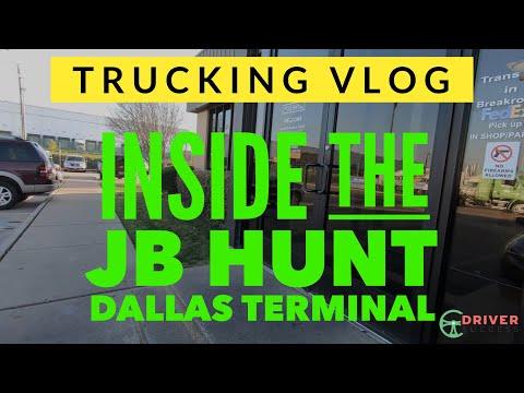 TRUCKING VLOG - The JB Hunt Terminal In Dallas Tx