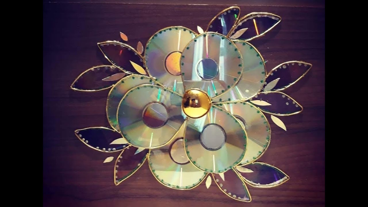 цветы из дисков картинки продажа теплиц, садово-огородного
