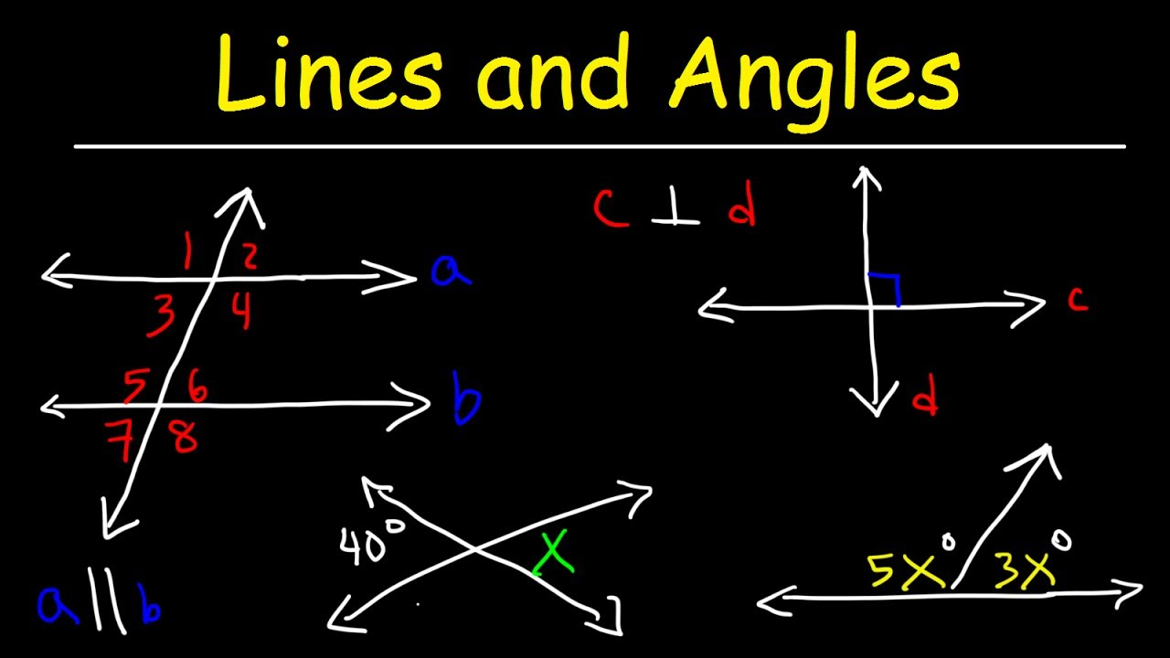 Parallel and perpendicular lines transversals alternate - Alternate interior exterior angles ...