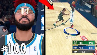 INSANE NBA FINALS GAME 7 NAIL BITER! CRAZY GAME ON THE LINE LAST SHOT! NBA 2k20 MyCAREER S2 Ep. 100