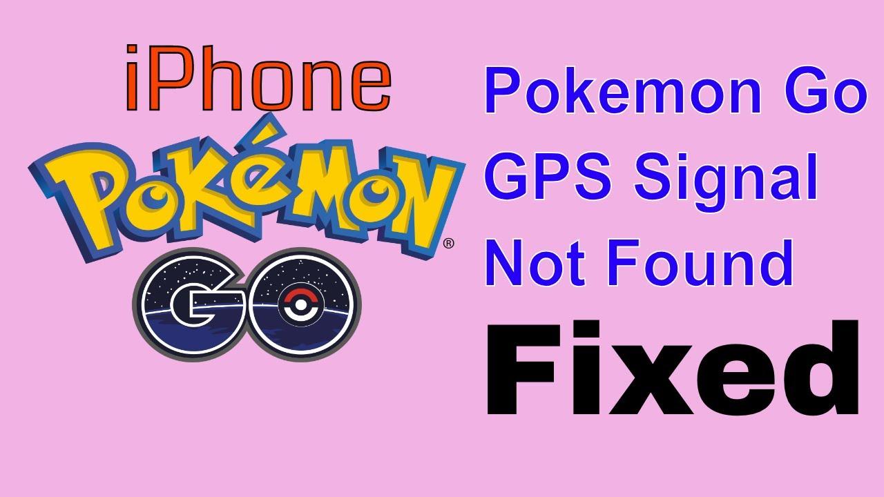 Fix iPhone pokemon go gps signal not found Error after iOS 12 Update