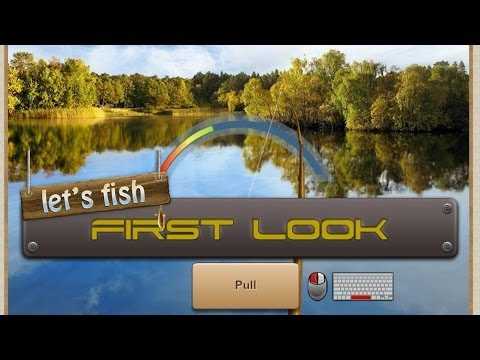 Let's Fish First Look Gameplay Commentary