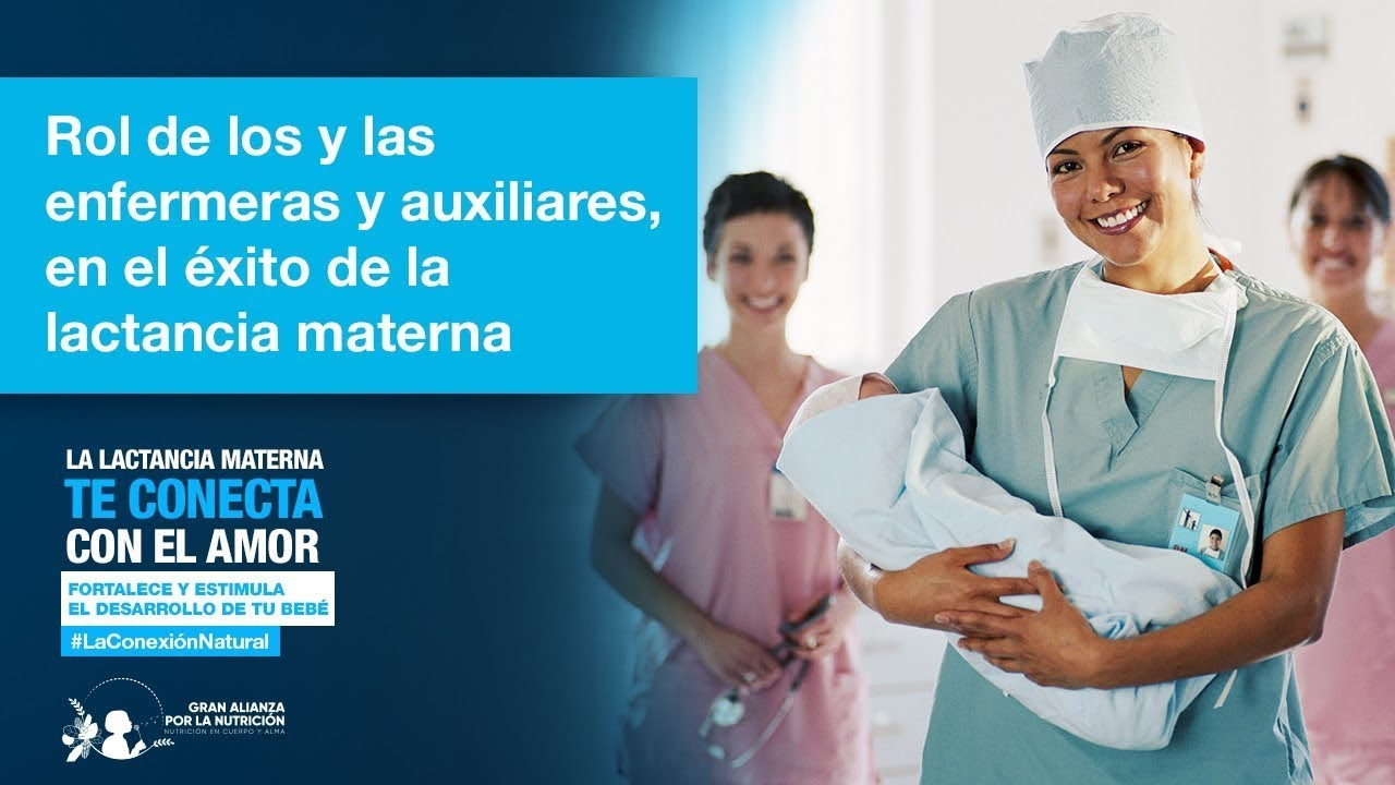 Rol de enfermeras y auxiliares es esencial en el éxito de la lactancia materna