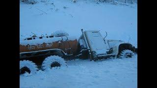 Мастерство и безбашенность водителей тяжелой техники на севере России #4 great roads North of Russia