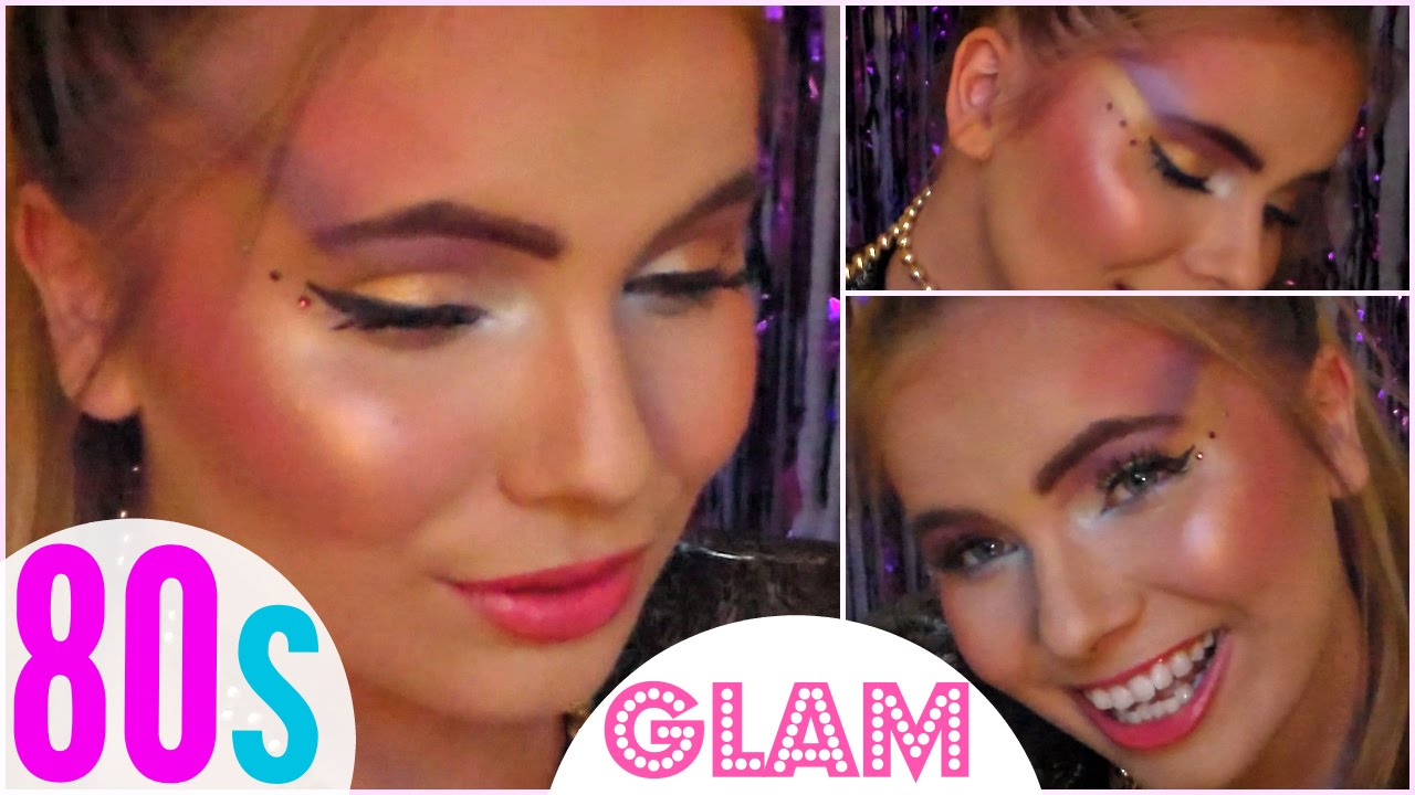 80s Glam Makeup!