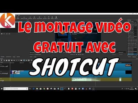 Les bases du montage vidéo avec le logiciel gratuit SHOTCUT | TUTORIEL Windows, Mac OS , Linux