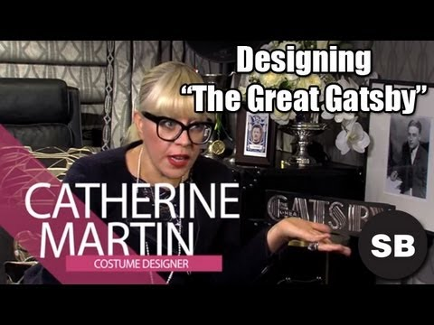 "Catherine Martin Talks Designing ""The Great Gatsby"""
