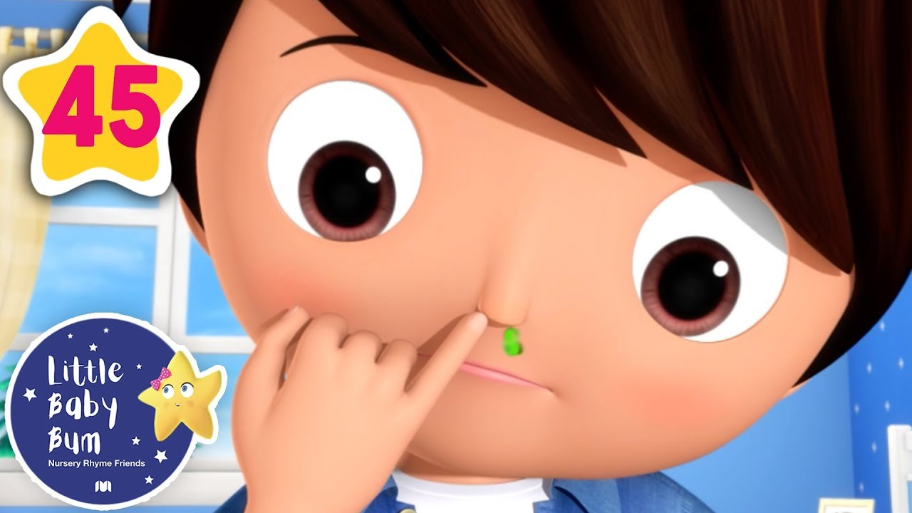 Don't Pick Your Nose! | +More Baby Songs | Nursery Rhymes | Little Baby Bum #1