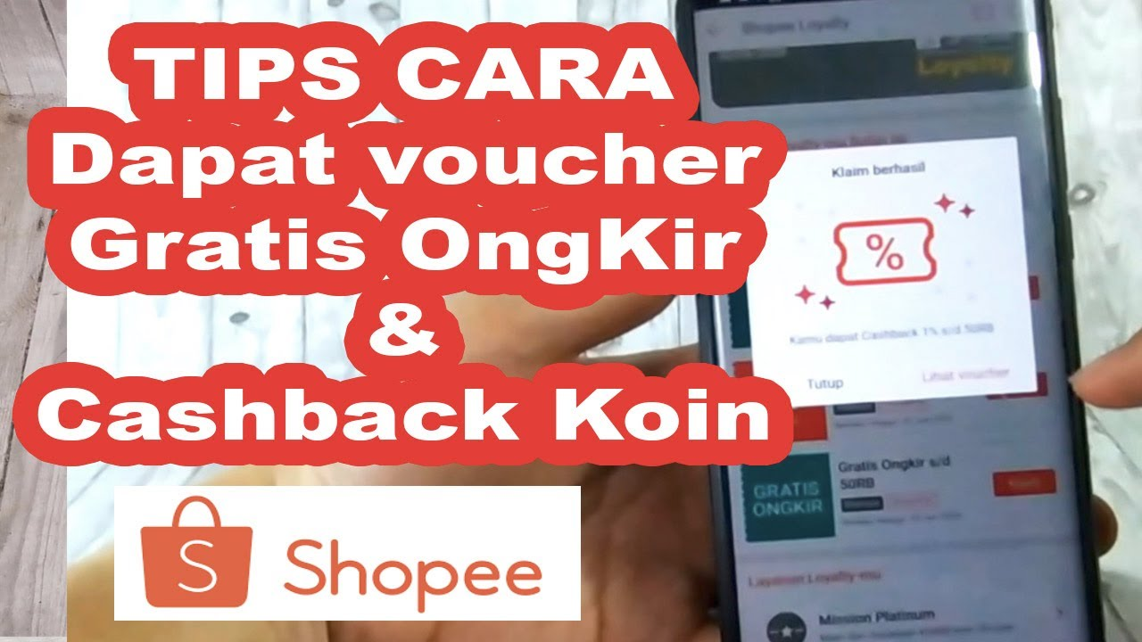 Tips cara dapat voucher subsidi gratis ongkir shopee dan cashback koinnya, PENTING sebelum belanja.
