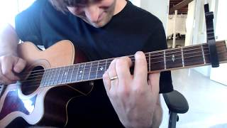 Forced Convalescence - Bright Eyes (guitar cover)