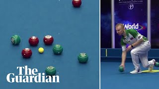 'That is ridiculous': brilliant bowls shot lights up World Indoor Championships
